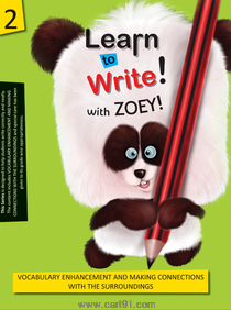Koral Books Learn to Write with Zoey 2