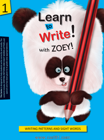 Koral Books Learn to Write with Zoey 1