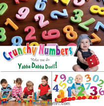Koral Books Crunchy Numbers
